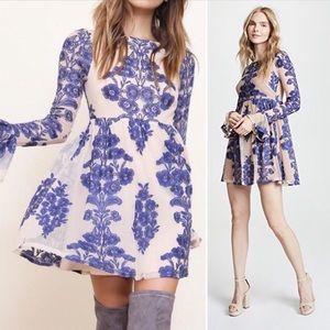 For Love And Lemons • Temecula Mini Dress.